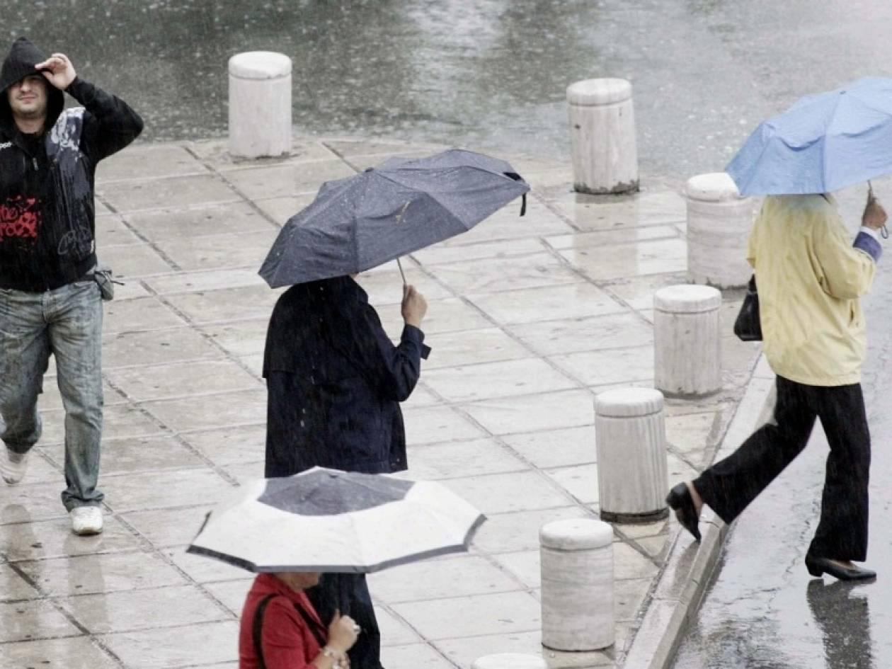 Μικρή πτώση της θερμοκρασίας με βροχές