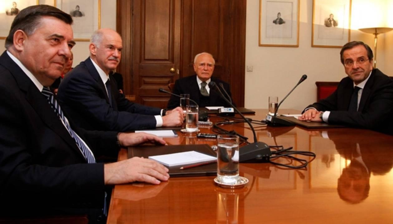 Στο Προεδρικό η συνεδρίαση των πολιτικών αρχηγών