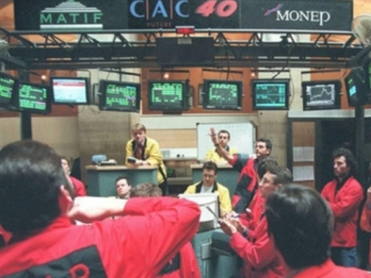 Στο «κόκκινο» το άνοιγμα των ευρωπαϊκών χρηματιστηρίων