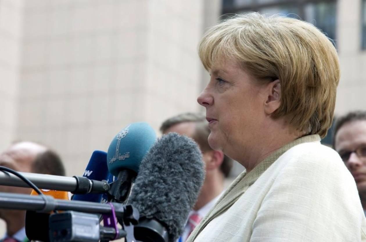Μέρκελ: Θα συνεργαστώ με όλους τους Έλληνες ηγέτες