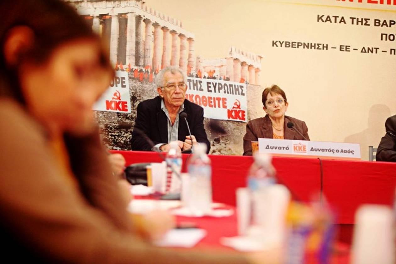 ΚΚΕ: Εκλεκτός της πλουτοκρατίας ο Παπαδήμος