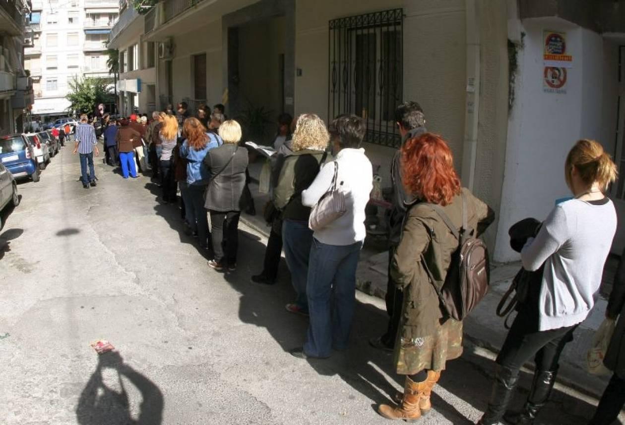 Ένα εκατομμύριο οι άνεργοι στην Ελλάδα