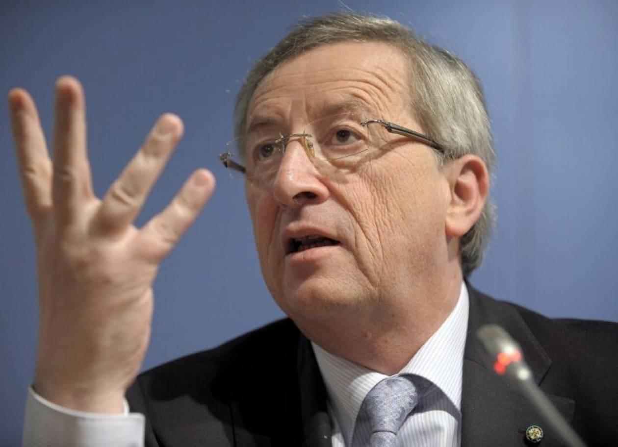 Γιούνκερ: «Ηλιθιότητες τα περί διάσπασης της Ευρωζώνης»