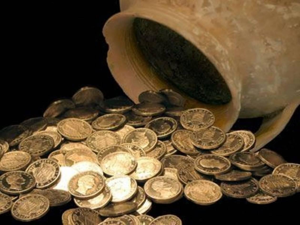 Έψαχναν χρυσές λίρες