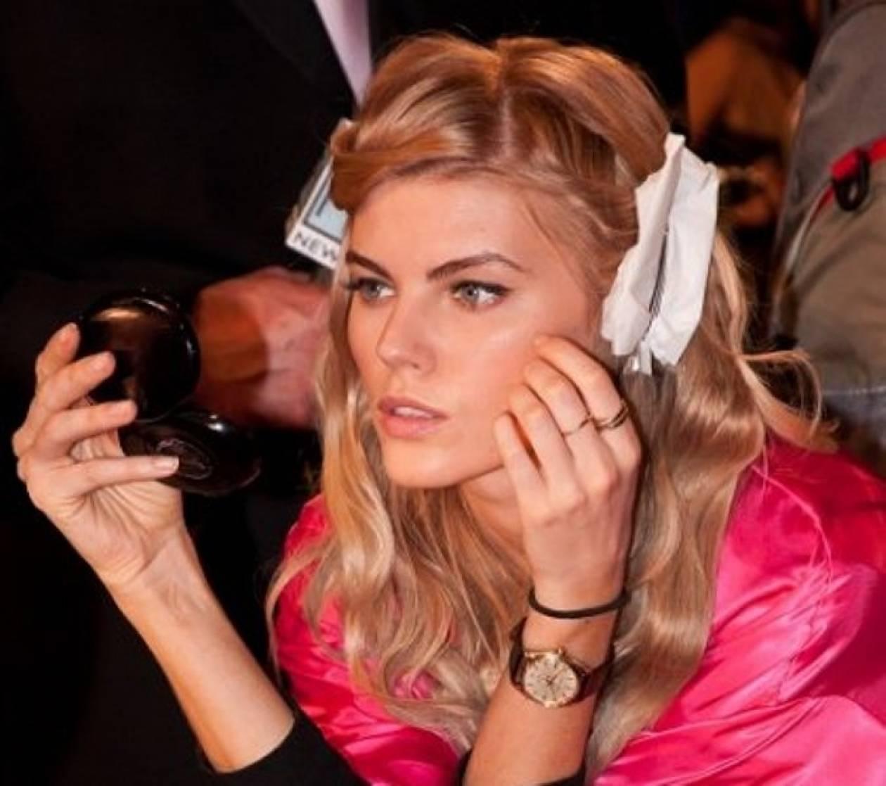 Αντιγράψτε το μακιγιάζ από το Victoria's Secret Show