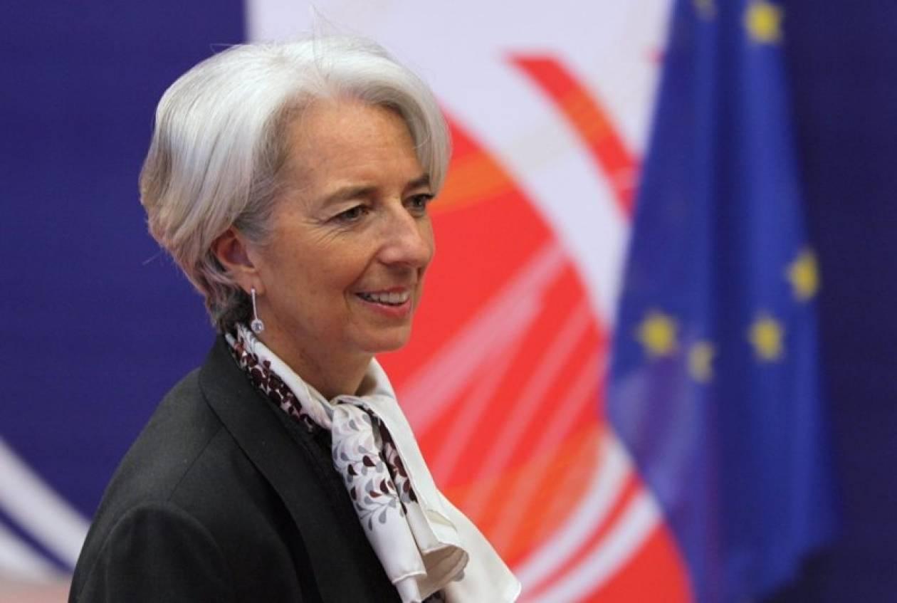 Αισιόδοξο μήνυμα της Λαγκάρντ για Ελλάδα και Ιταλία