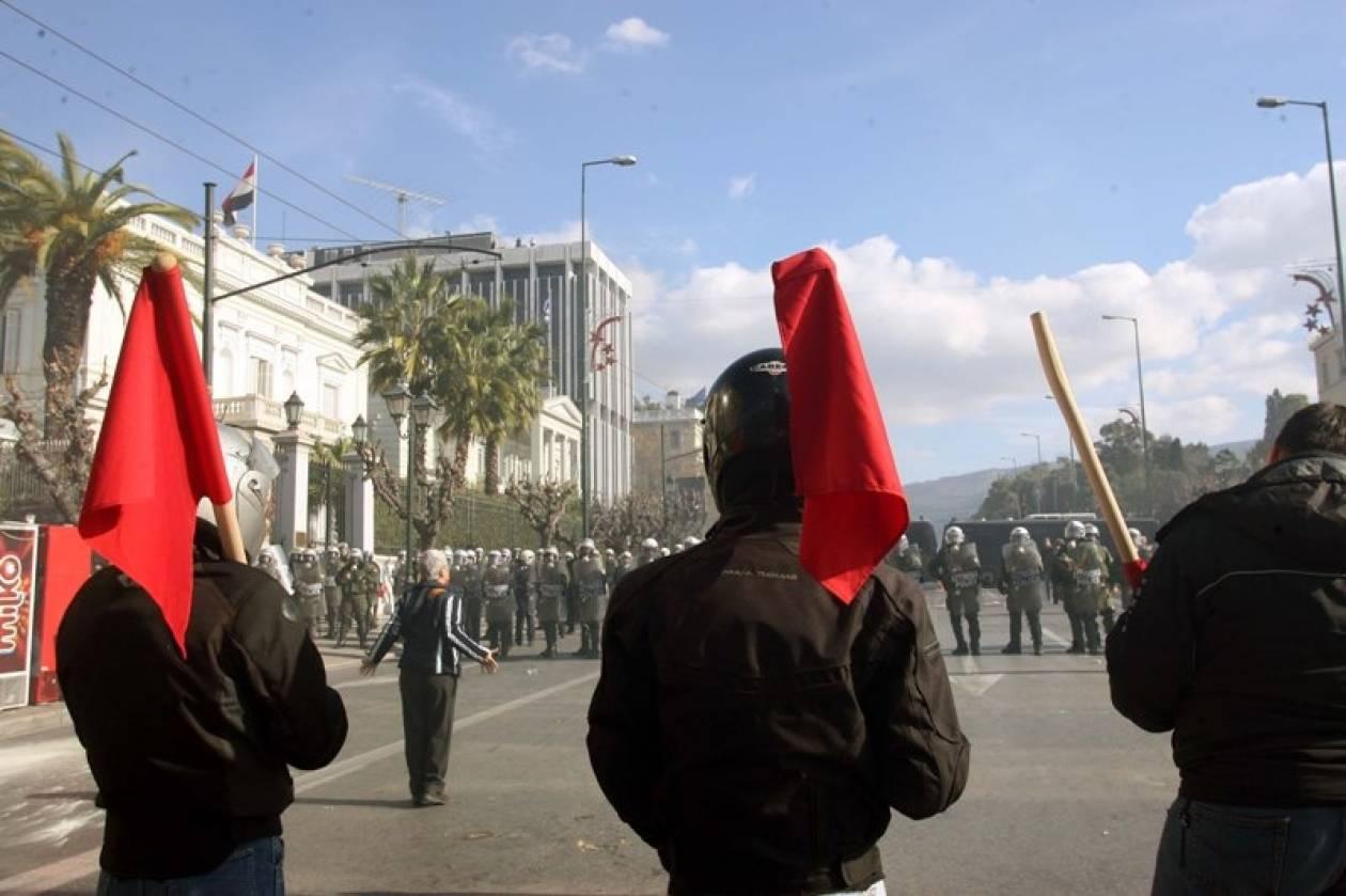 Συγκεντρώσεις αναρχικών και εθνικιστών στη Νίκαια