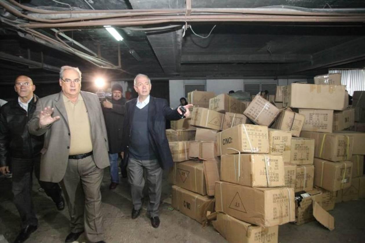 Καταστροφές προϊόντων «μαϊμού» στο Δήμο Πειραιά