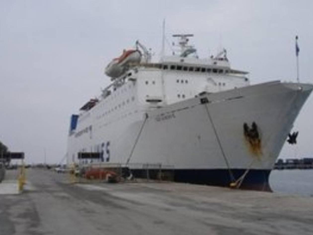 Πρόσκρουση πλοίου στο λιμάνι του Ηρακλείου