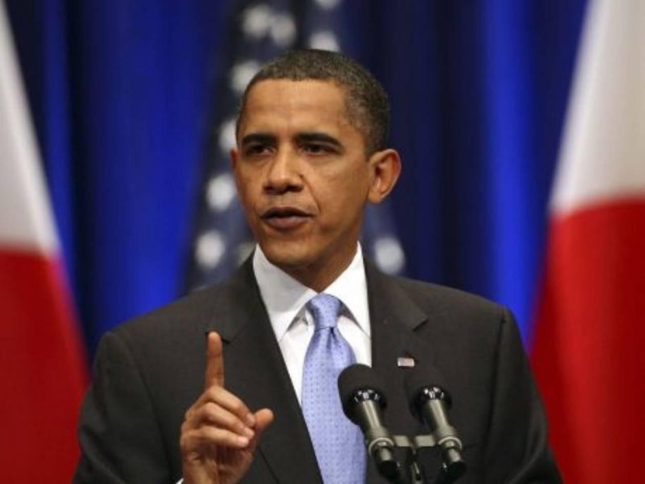 «Χαιρετίζει» τις αποφάσεις του Αραβικού συνδέσμου ο Ομπάμα