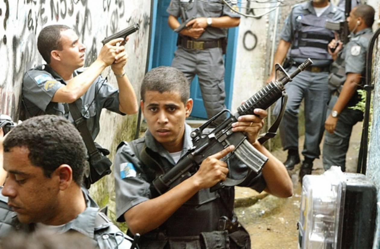 Επιχείρηση της αστυνομίας στις φαβέλες του Ρίο