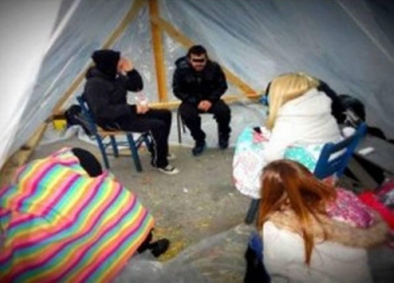 Διήμερη απεργία πείνας έξω από το τούρκικο Προξενείο