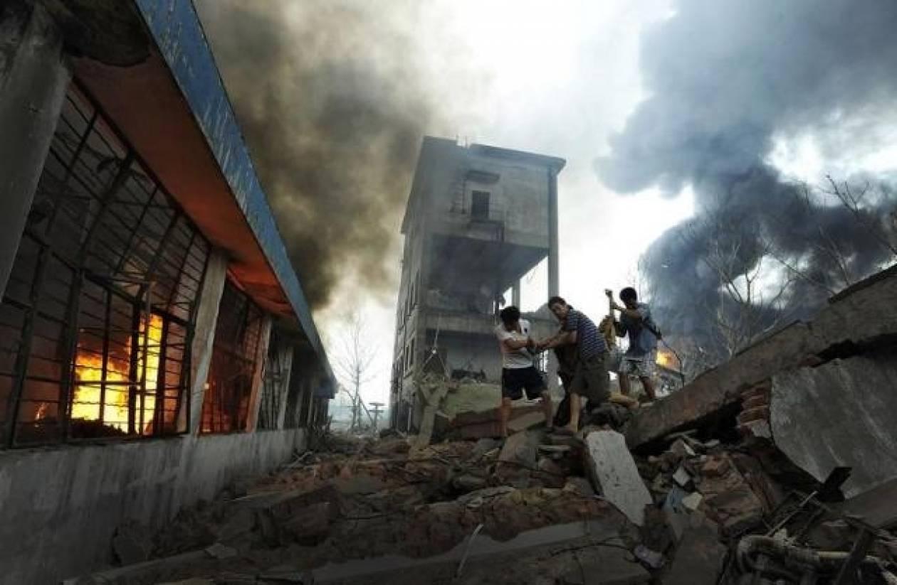 Φονική έκρηξη με επτά νεκρούς στην Κίνα