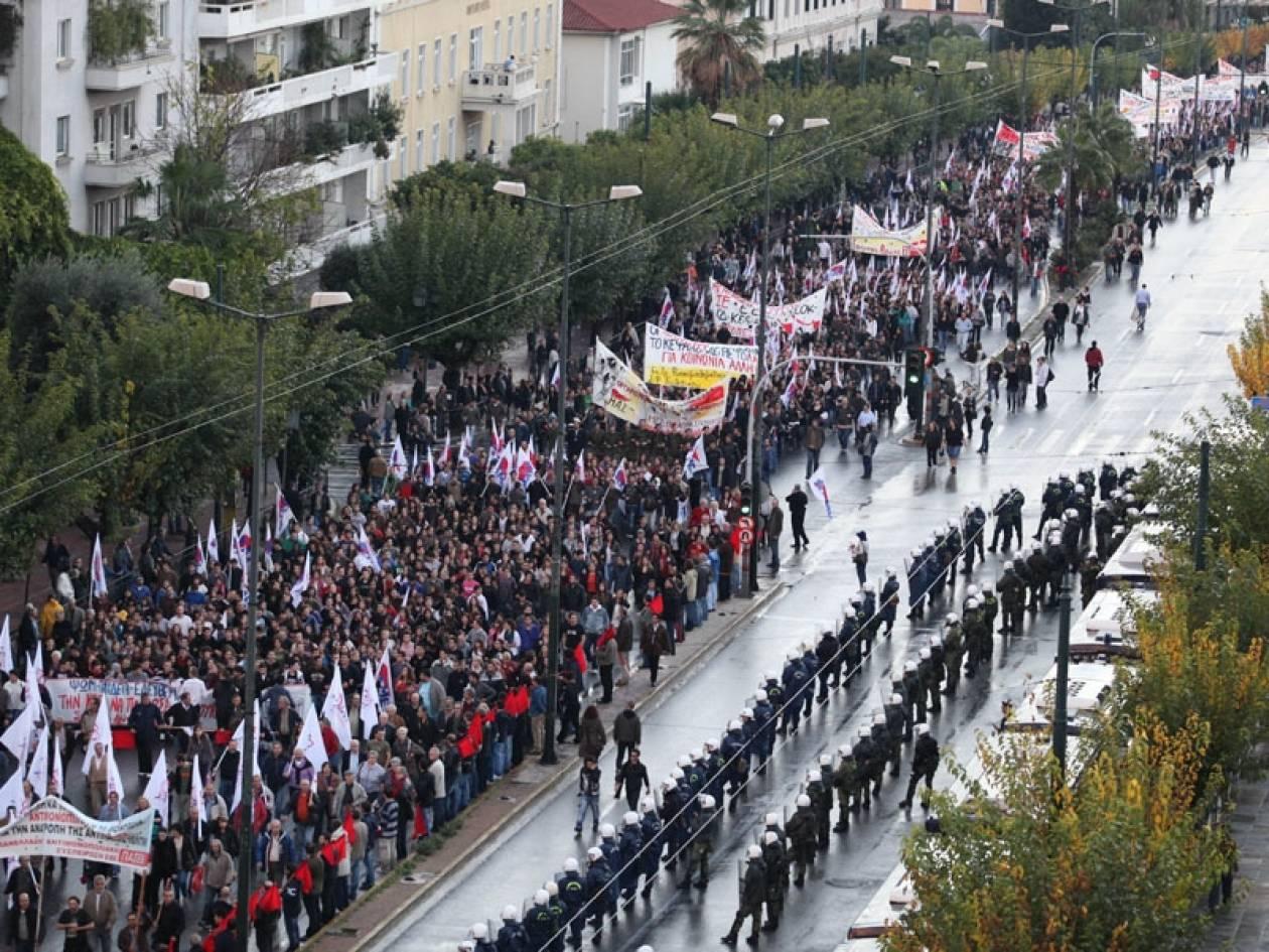 «Αστακός» η Αθήνα ενόψει 17 Νοέμβρη