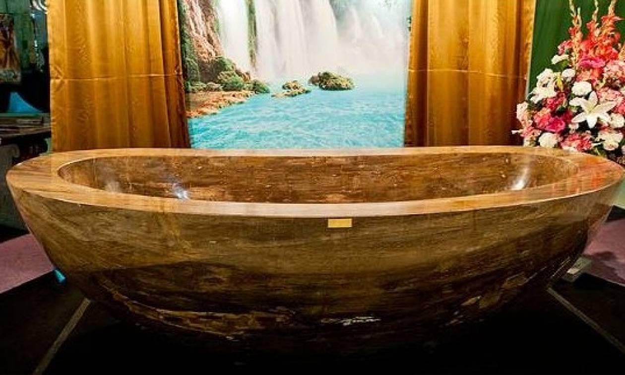 Η πιο ακριβή μπανιέρα στον κόσμο