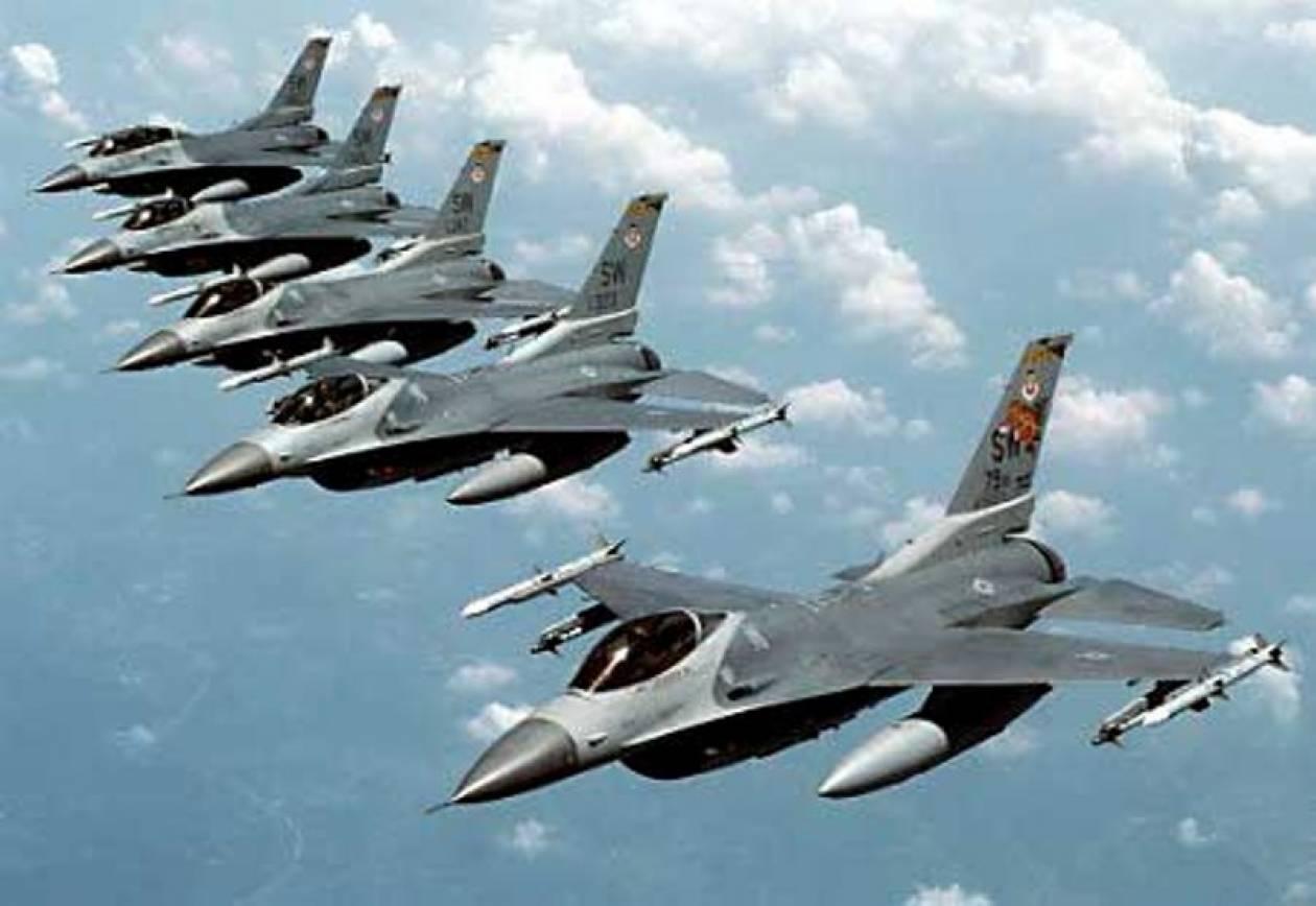 Τουρκικά μαχητικά F16 πάνω από τη Λευκωσία