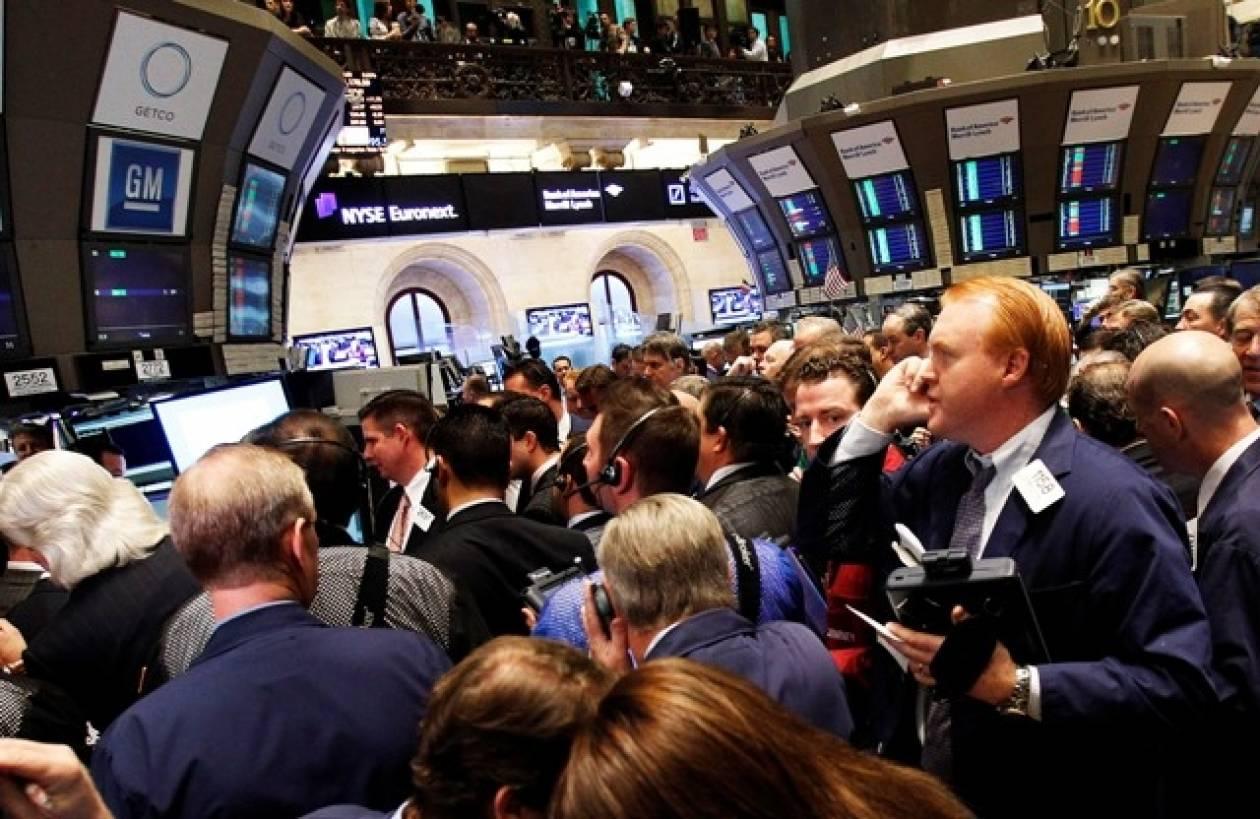 Πτωτικές τάσεις στη Wall Street