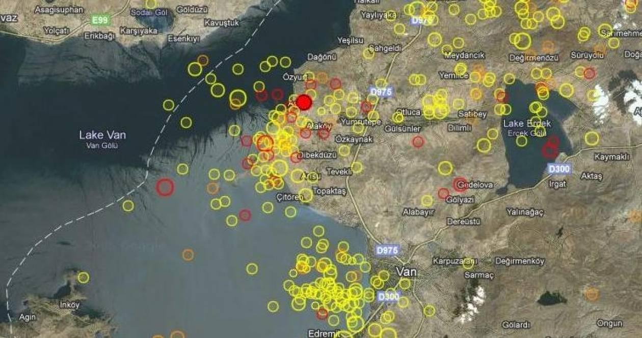 Νέο χτύπημα του εγκέλαδου στην ανατολική Τουρκία