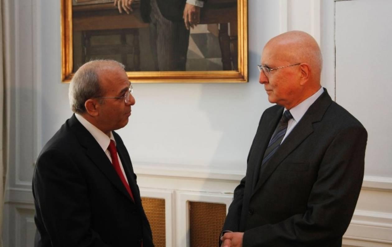 Συνάντηση Στ. Δήμα με τον πρέσβη της Κύπρου στην Αθήνα