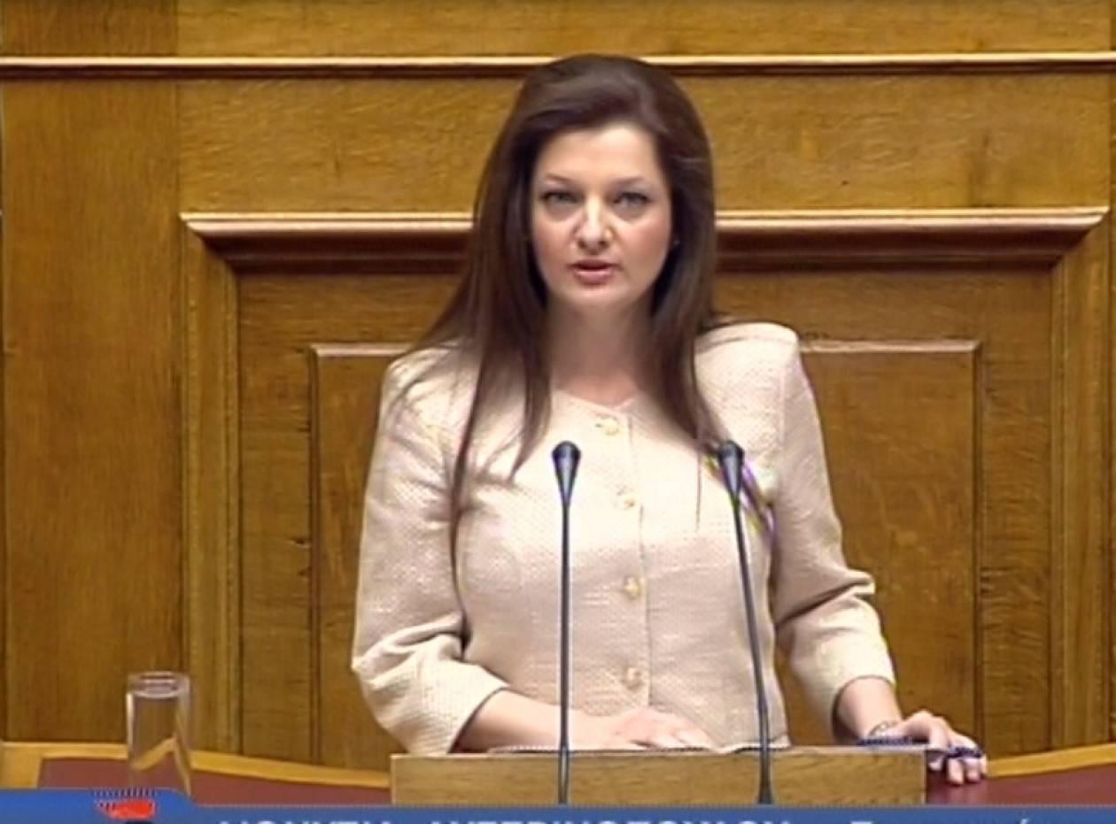 Στις διεθνούς φήμης προσωπικότητες Ελληνίδα βουλευτής