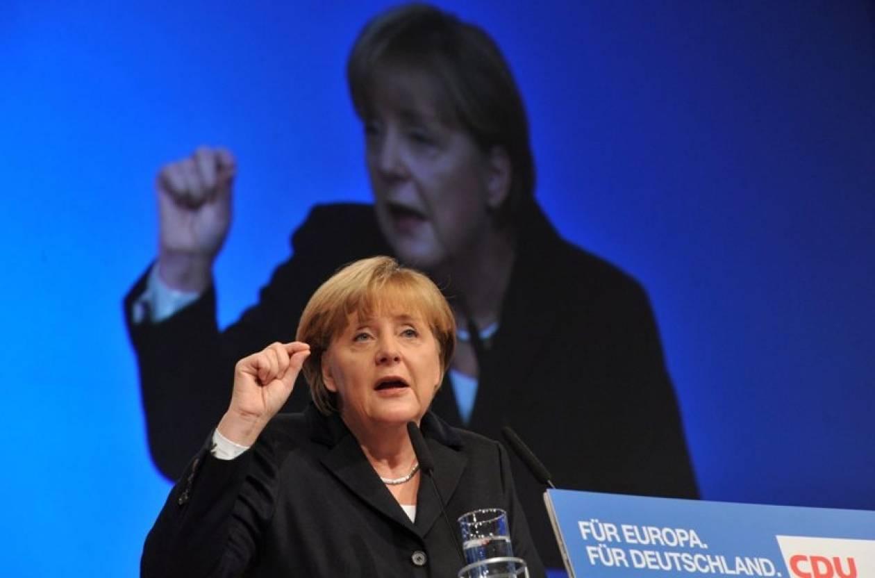 Αισιόδοξη η Μέρκελ ότι το κόμμα της θα ξανακερδίσει τις εκλογές