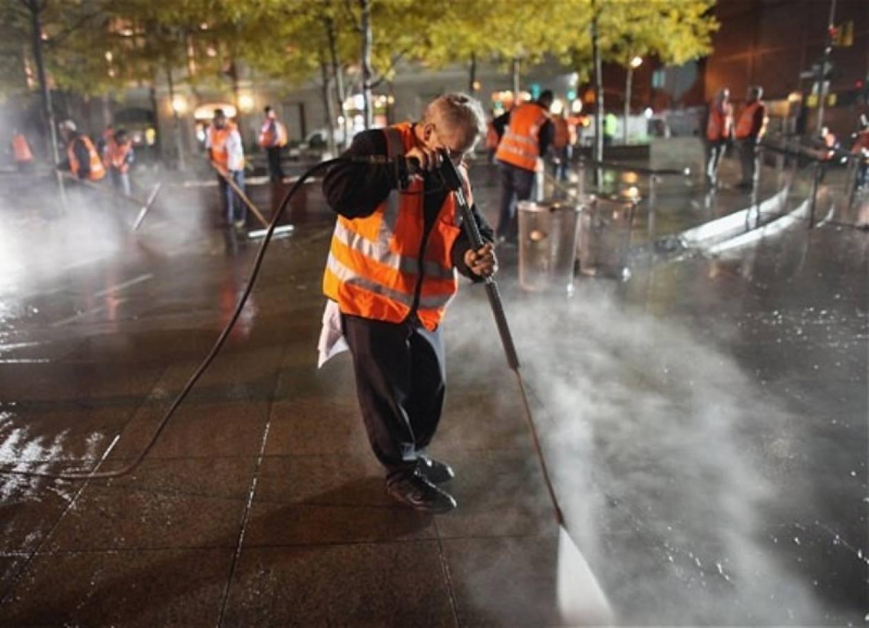 Νέα Υόρκη: Συγκεντρώνονται σε άλλο χώρο οι διαδηλωτές