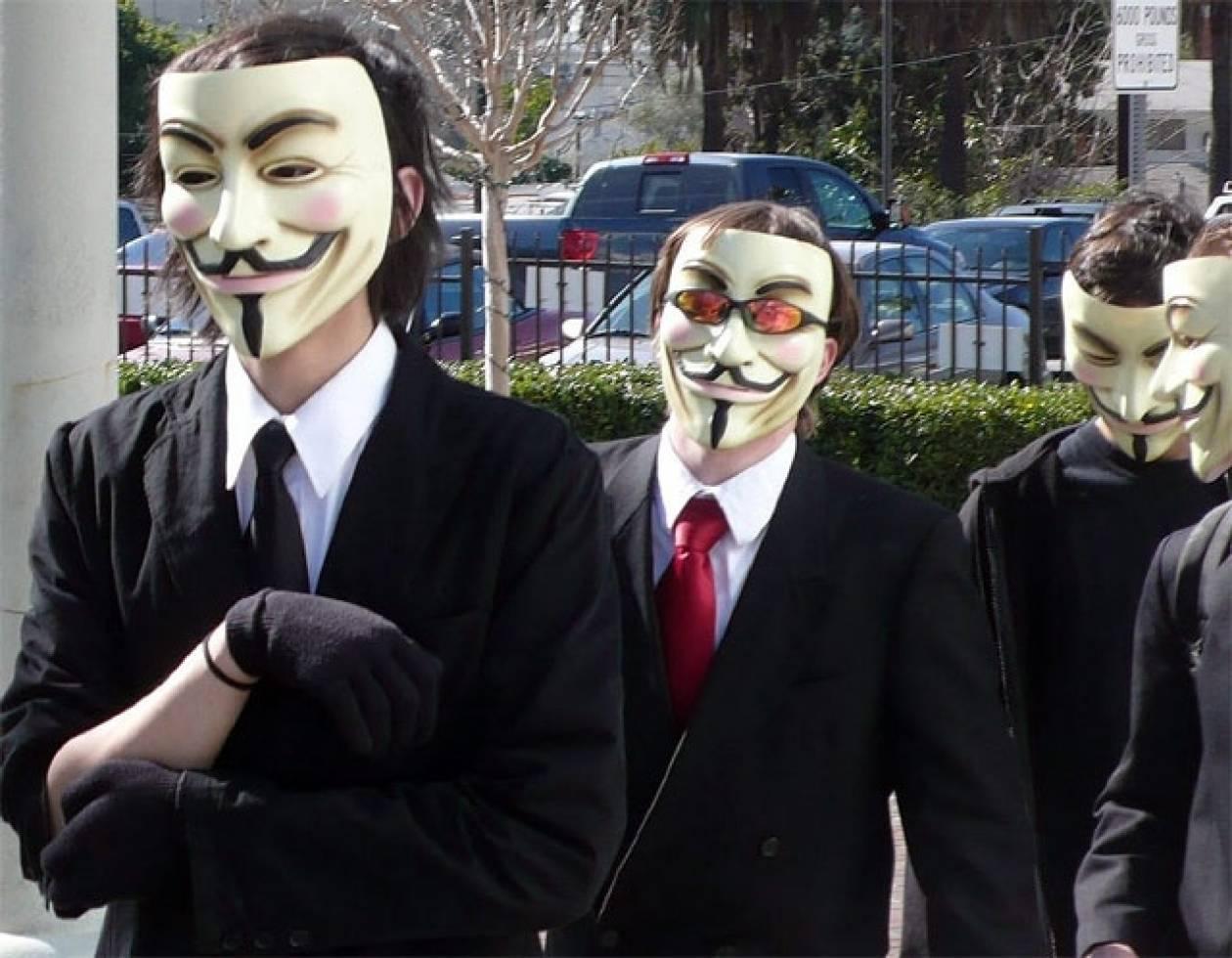Οι Anonymous απειλούνται με εμφύλιο