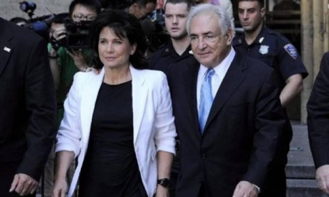 Ο Στρος Καν και η σύζυγός του μηνύουν τη «Le Figaro»