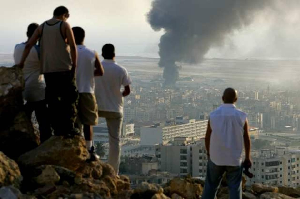 Επίθεση σε συγκρότημα της Πολεμικής Αεροπορίας της Συρίας