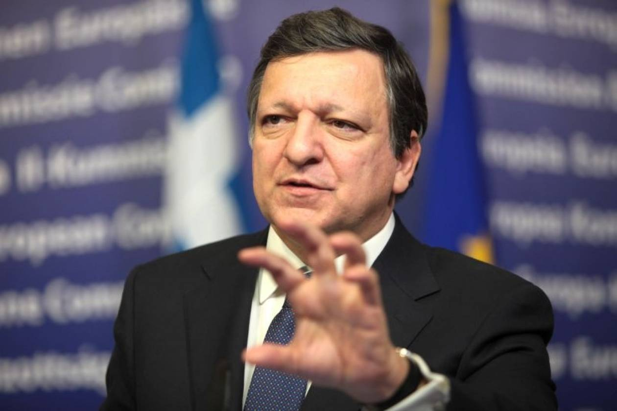 Μπαρόζο: Η ευρωζώνη δεν θα επιβιώσει χωρίς συνεργασία