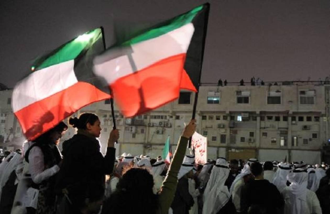 Εισβολή διαδηλωτών στο κοινοβούλιο του Κουβέιτ