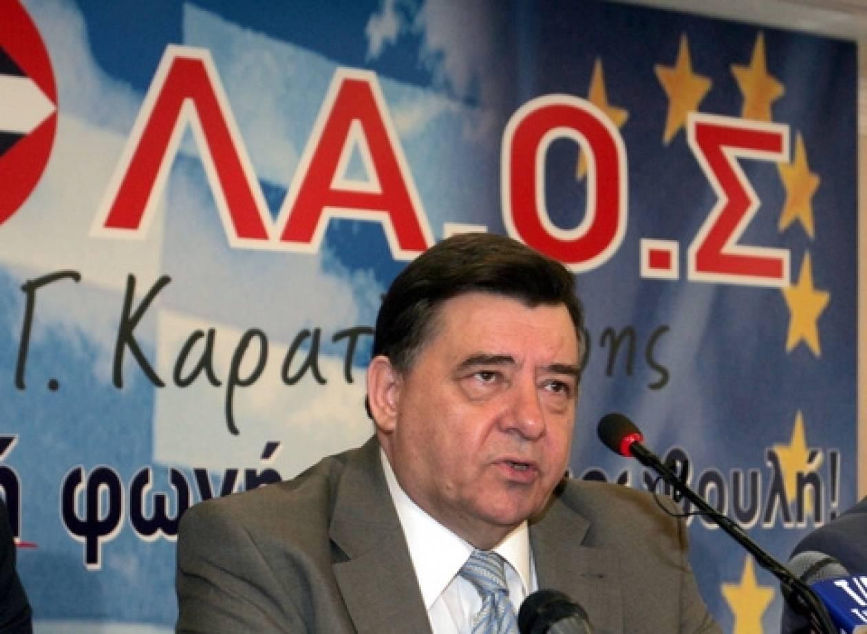 """ΛΑΟΣ: Τιμή μας η άρνηση του """"Τούρκου"""" βουλευτή"""