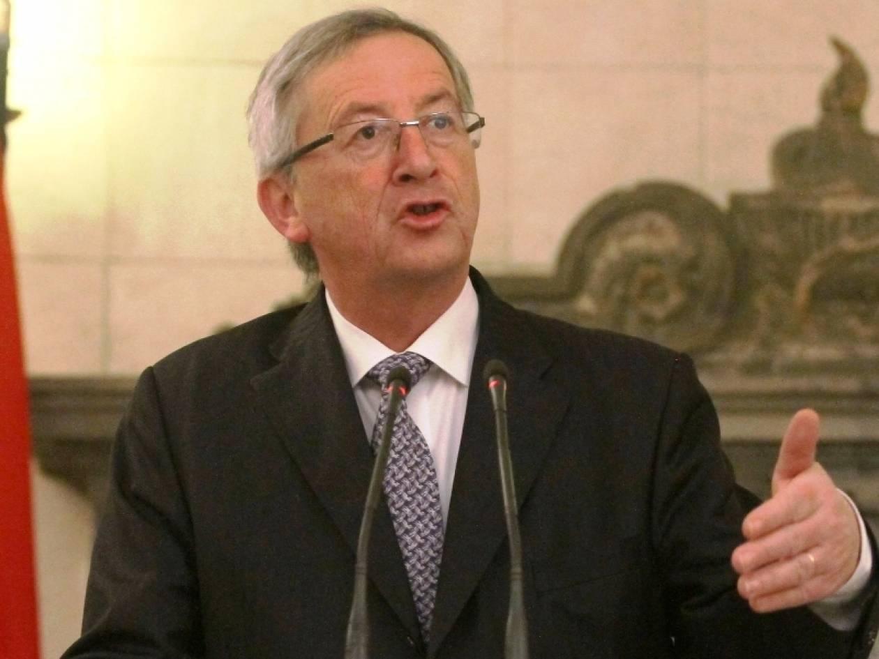 Γιούνκερ: Καταστροφική η έξοδος της Ελλάδας από το ευρώ