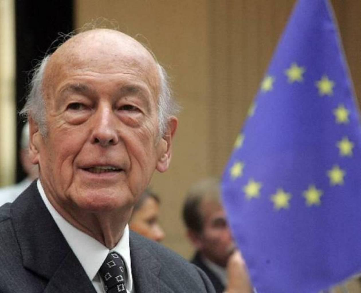 Ζισκάρ ντ'Εστέν: Λάθος η ένταξη της Ελλάδας στο ευρώ