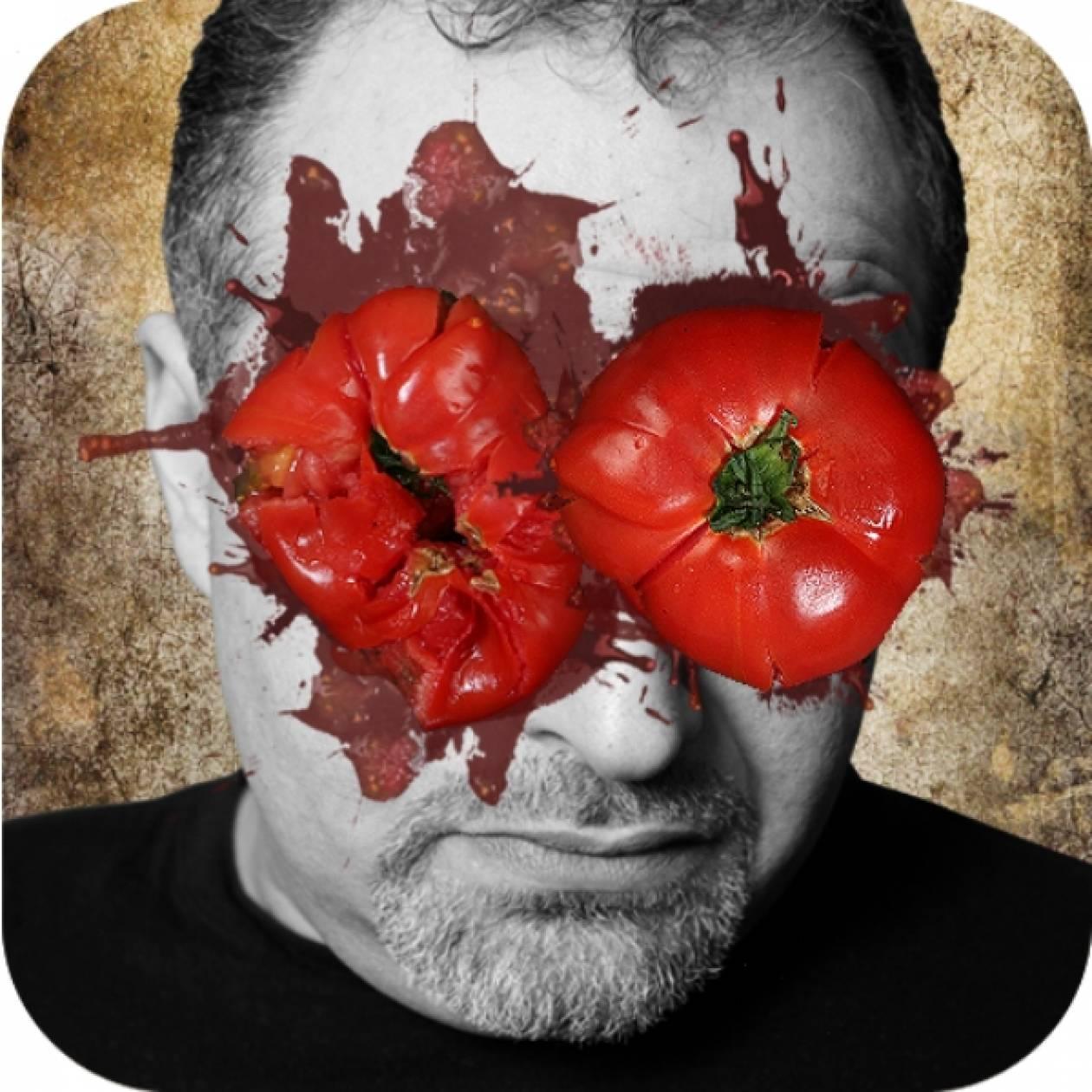 Εκδίκηση μέσω iPhone με... ντομάτες και σφαλιάρες