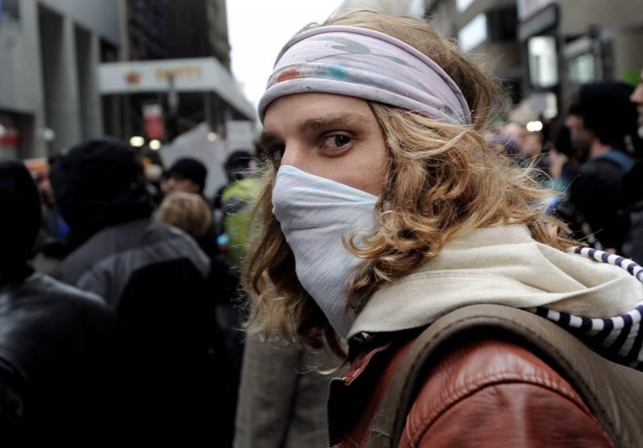 ΗΠΑ: Η αστυνομία απέκλεισε τη Γουόλ Στριτ