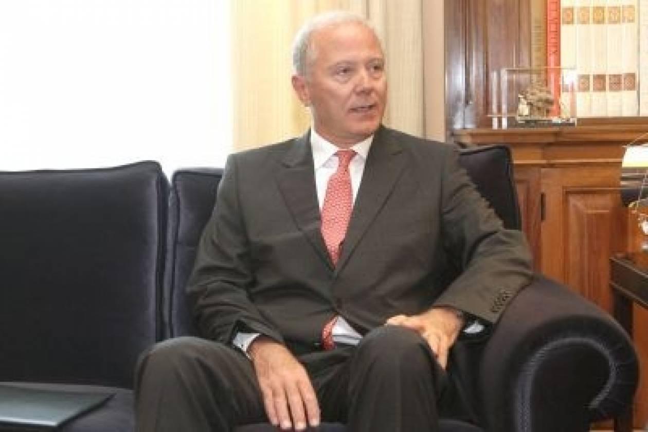 Συνάντηση του Λ. Παπαδήμου με τον Γ. Προβόπουλο στο Μέγαρο Μαξίμου