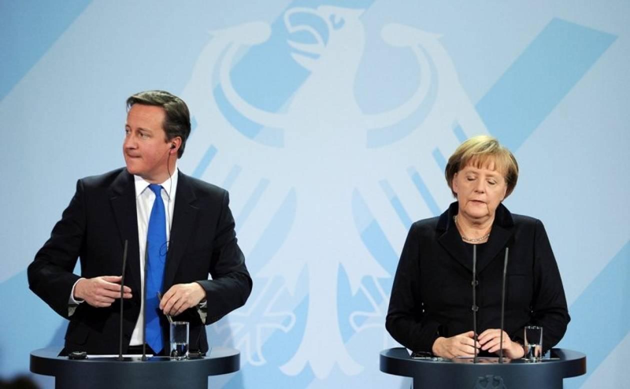 Παραμένουν οι διαφωνίες Μέρκελ-Κάμερον