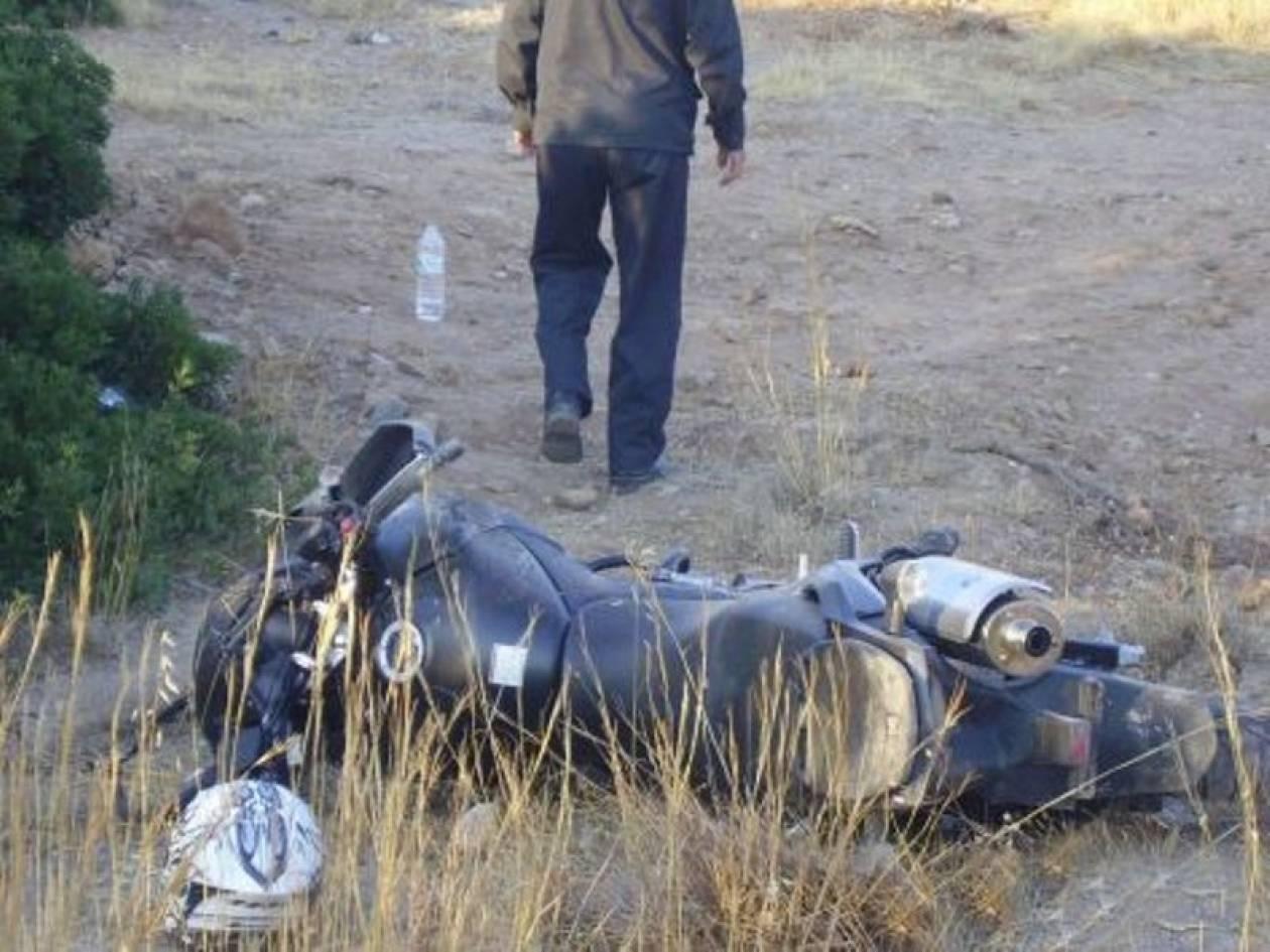 Σοβαρός τραυματισμός μοτοσικλετιστή στην Ιεράπετρα