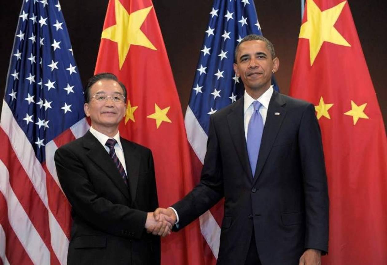 Συνάντηση Ομπάμα με τον πρωθυπουργό της Κίνας