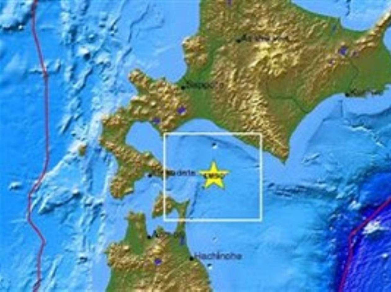 Σεισμός 5,1 Ρίχτερ στην Ιαπωνία