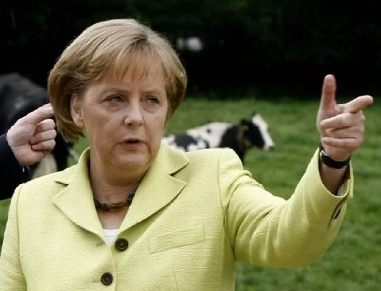 Η Μέρκελ καταδικάζει της υπερχρεωμένες χώρες
