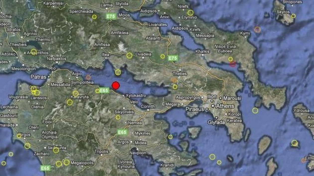 Σεισμός στον Κορινθιακό Κόλπο