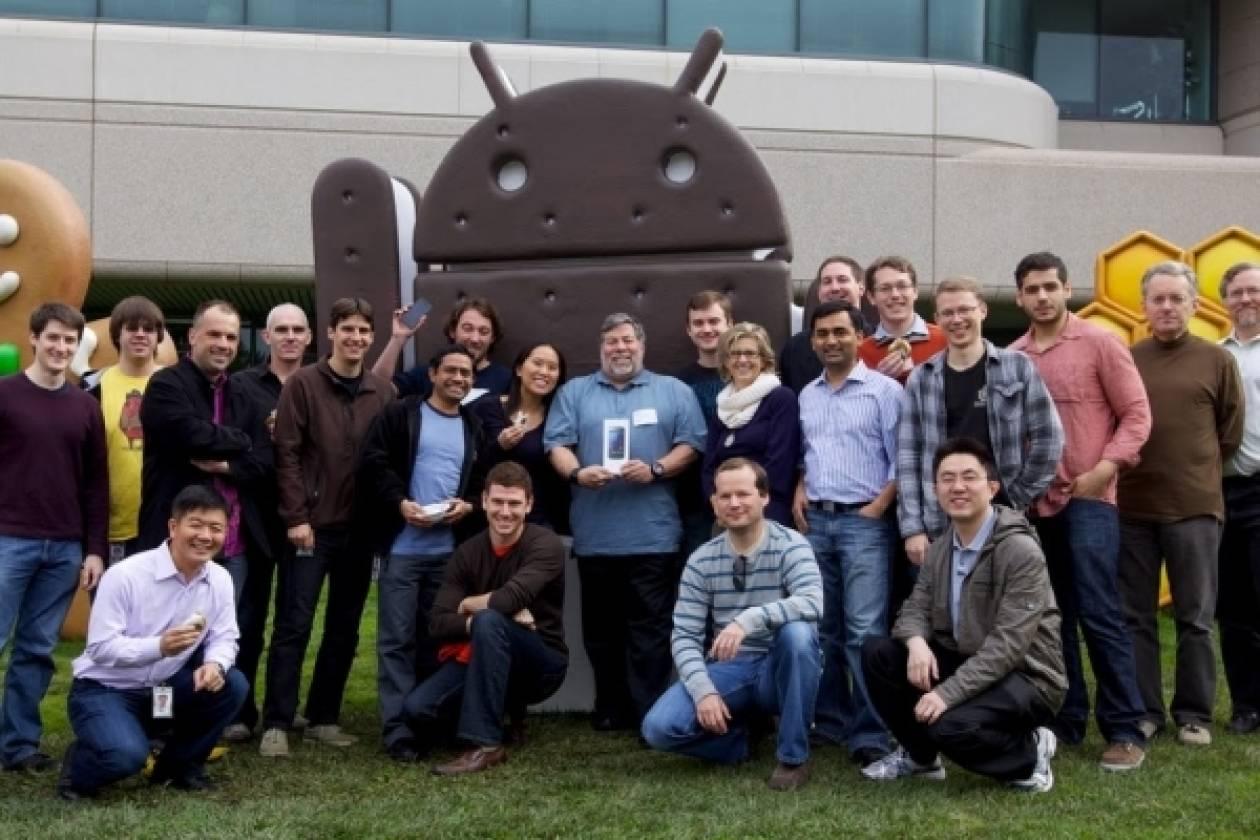 Ο Steve Wozniak πήρε το Galaxy Nexus!