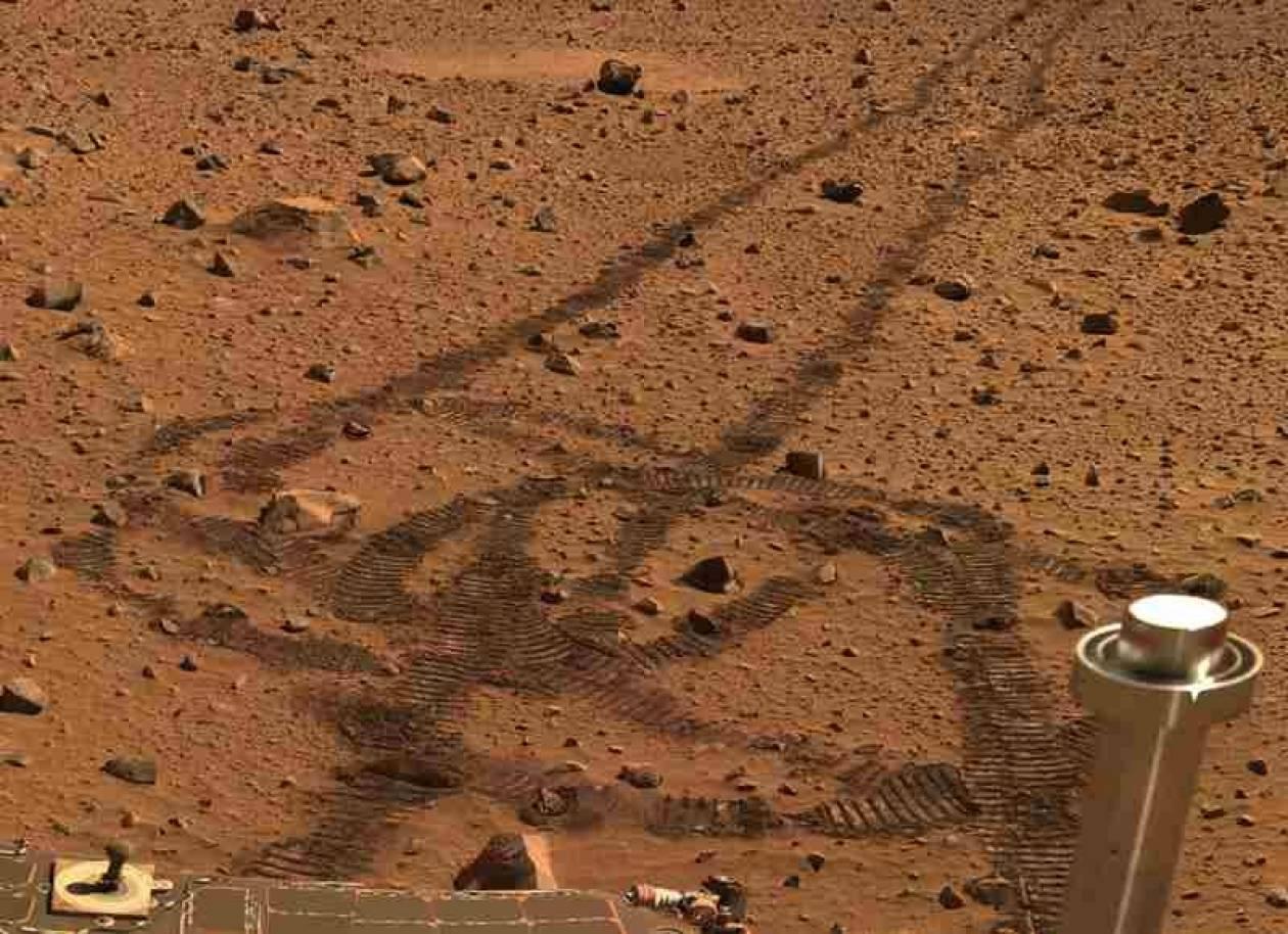 Το Spirit μας προσφέρει βόλτα στον Άρη!