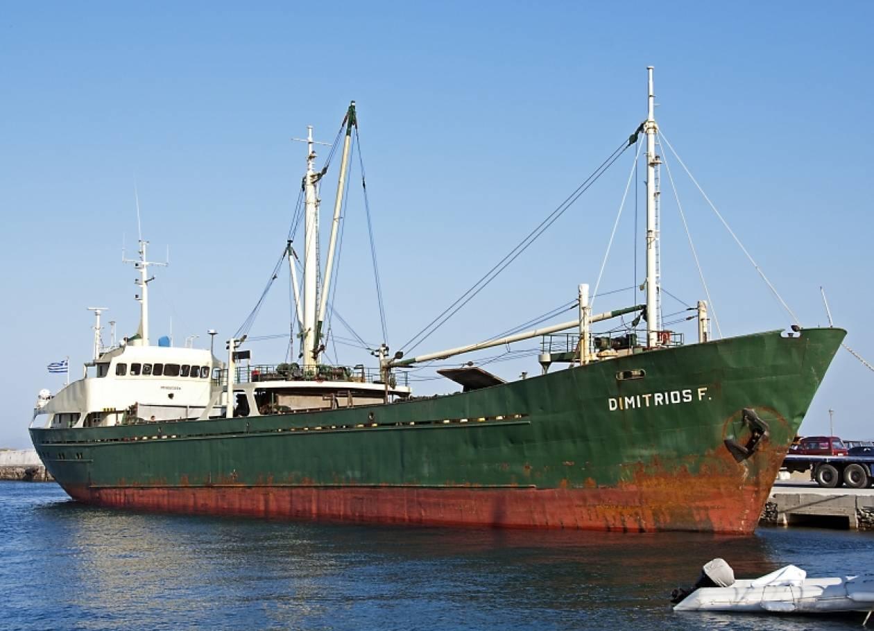 Ατύχημα για ναυτικό σε φορτηγό πλοίο