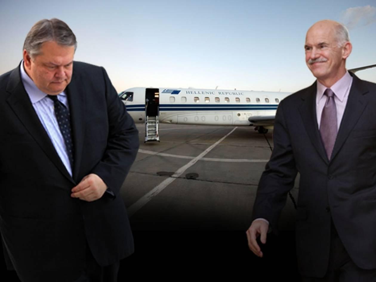 Παπανδρέου και Βενιζέλος μετέτρεψαν κυβερνητικά αεροσκάφη σε …ΙΧ