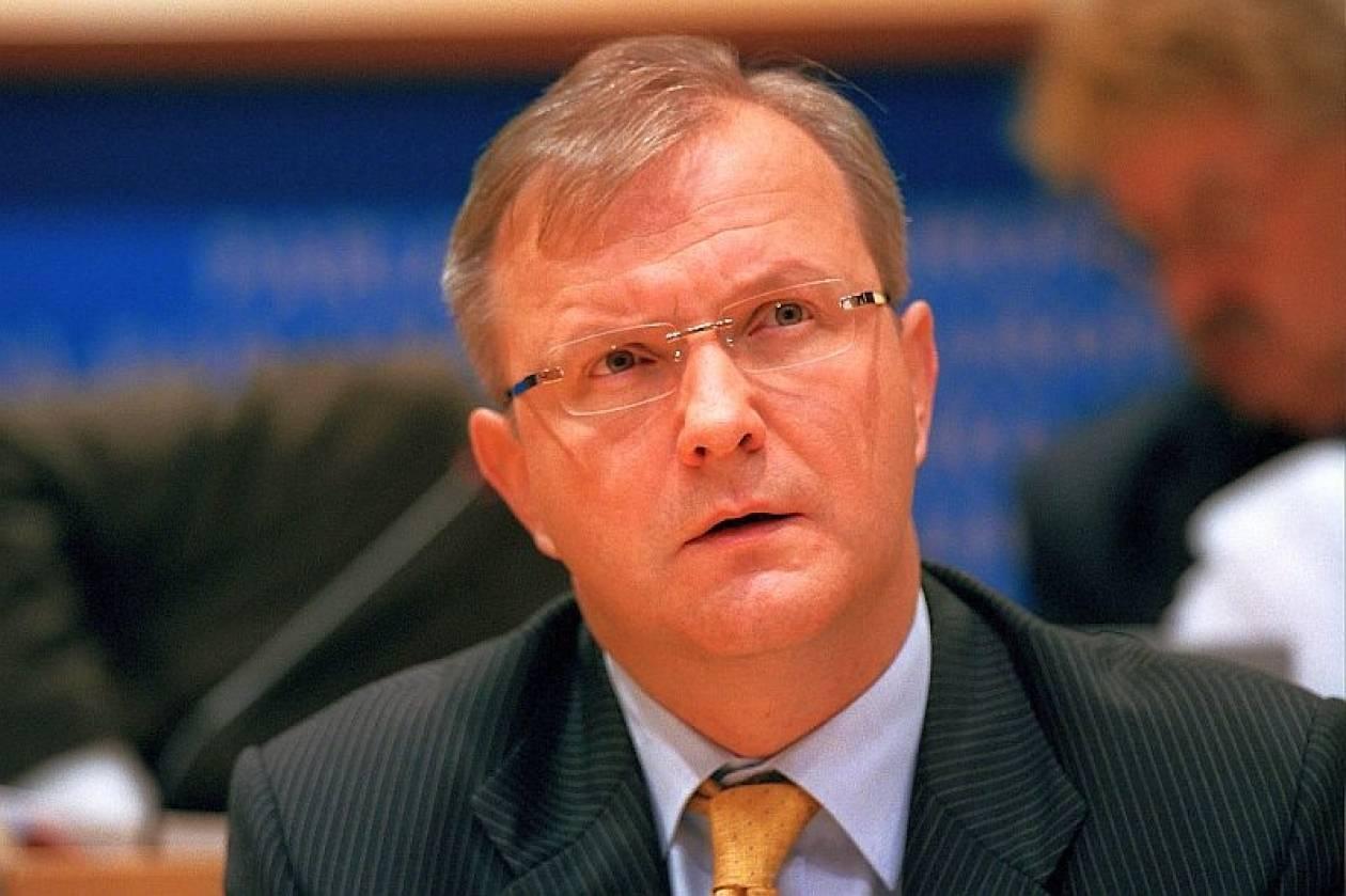 Ρεν: Η Κομισιόν θα παρεμβαίνει στους εθνικούς προϋπολογισμούς