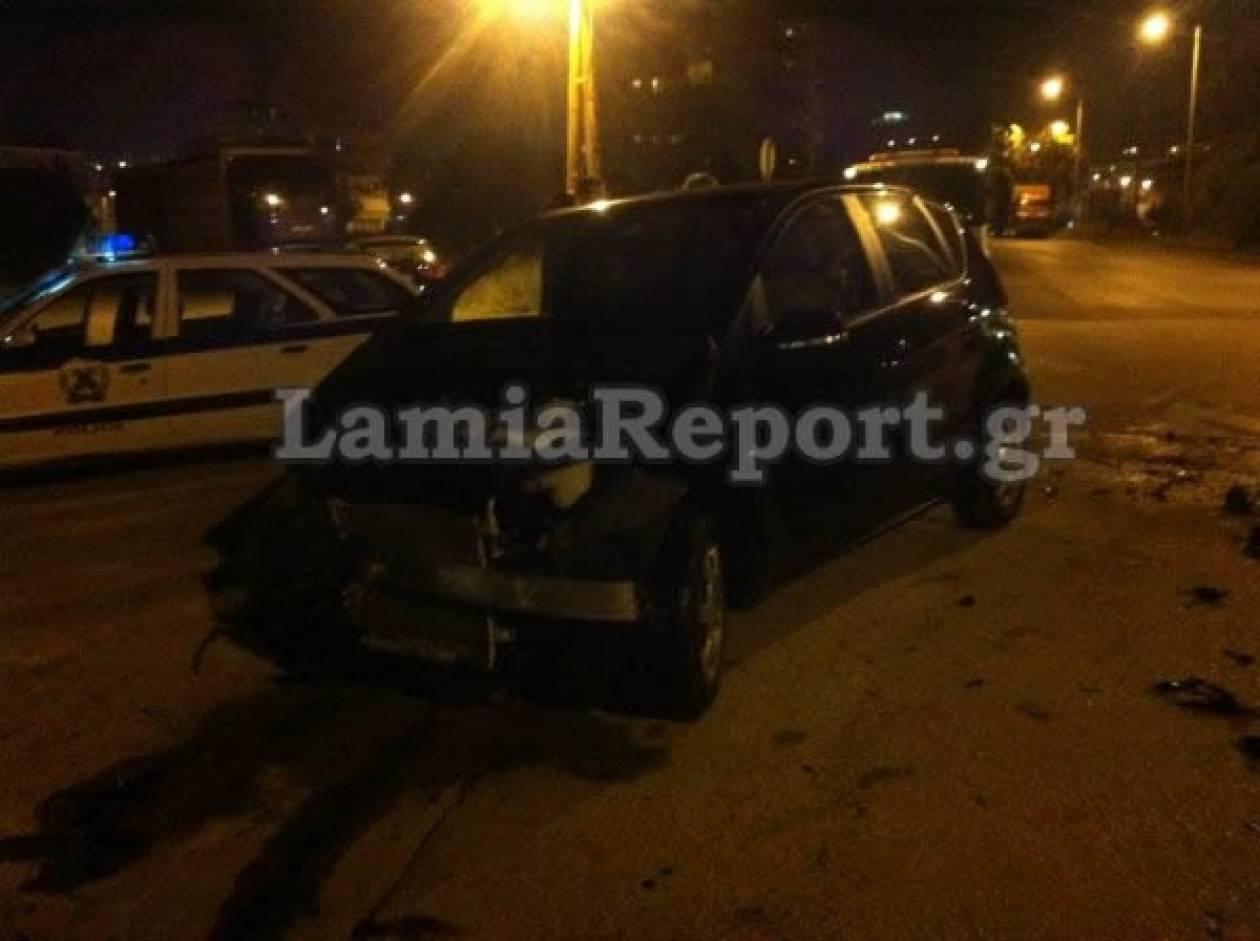 Τροχαίο ατύχημα στη Λαμία