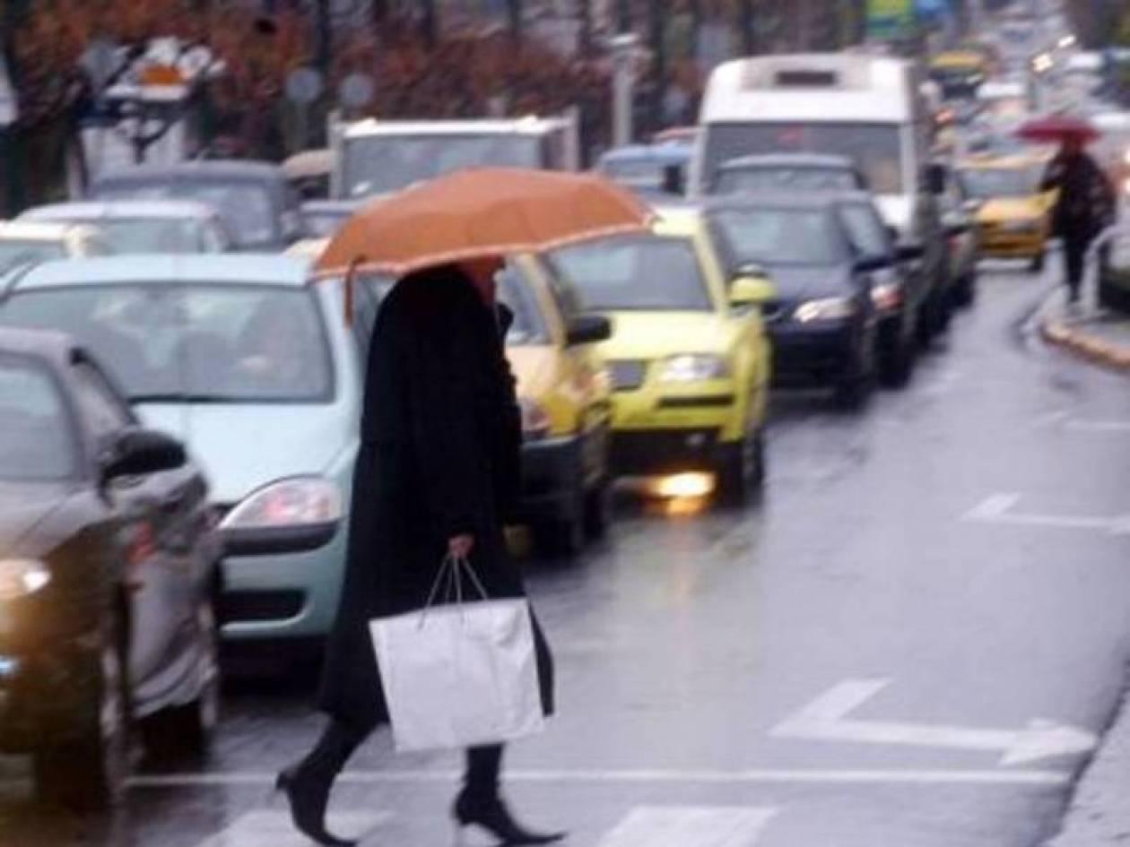 Κρύο, νεφώσεις και βροχόπτωση